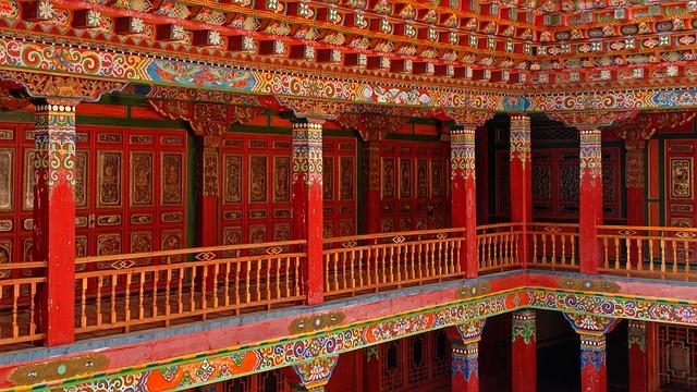 čínský interiér
