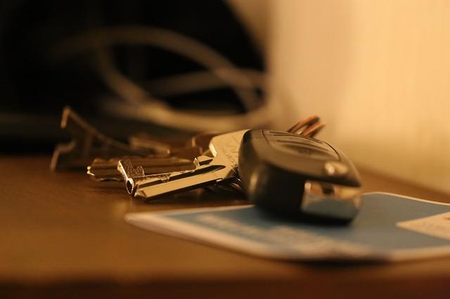 klíče od dodávky