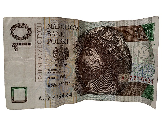 polská bankovka – 10 zlotych