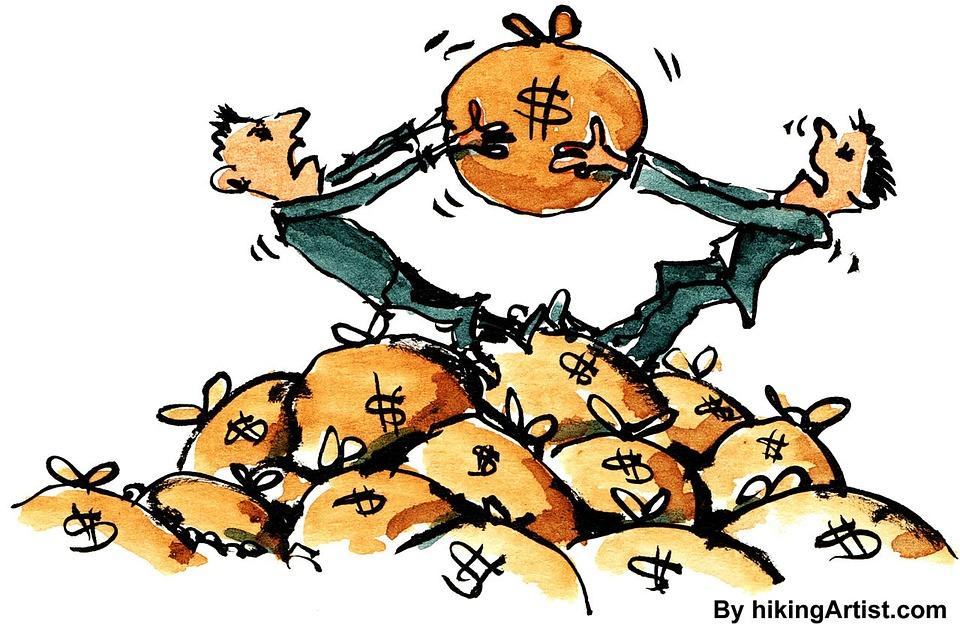 rvačka o peníze